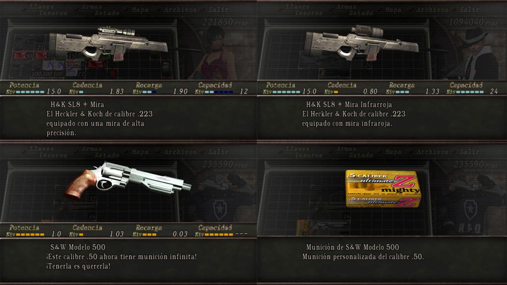 Nombres realistas de armas para RE4 Classic - by Jadiel Martins [Multi-Idioma] 510