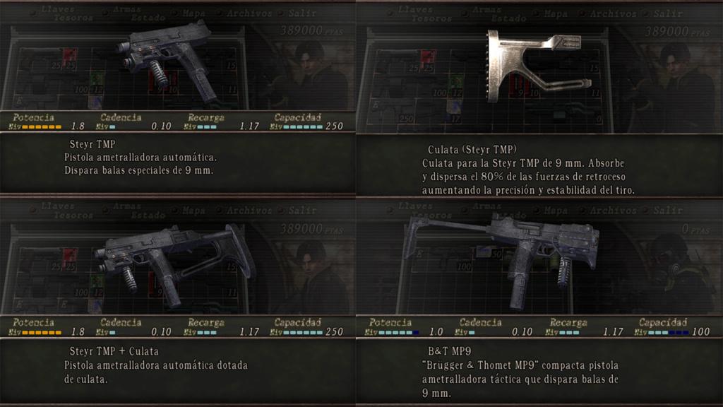 Nombres realistas de armas para RE4 Classic - by Jadiel Martins [Multi-Idioma] 710