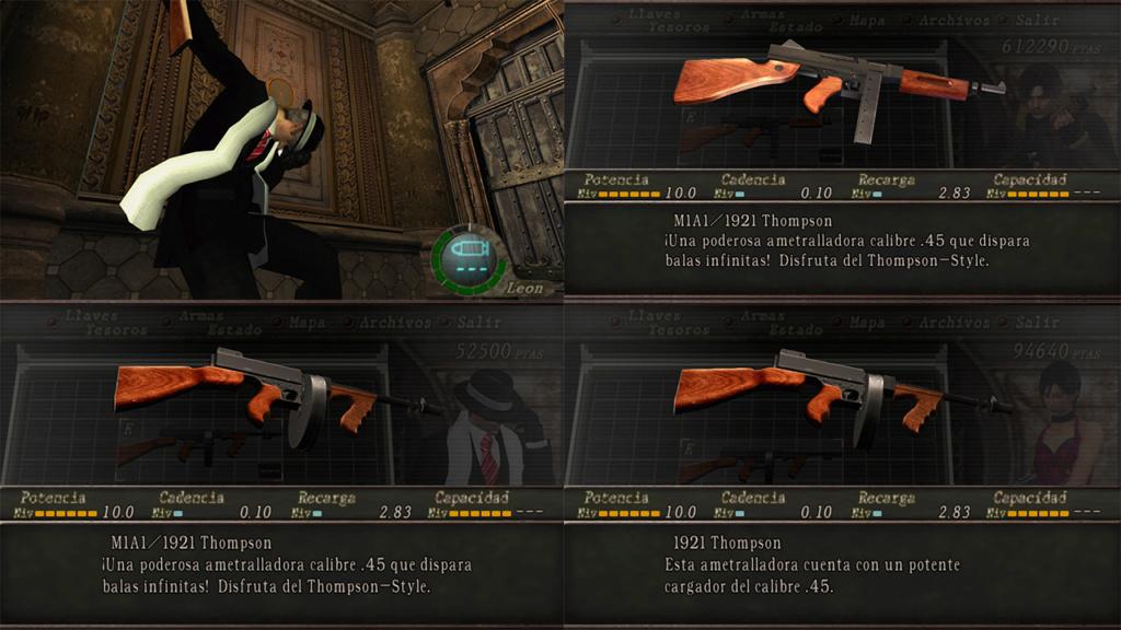 Nombres realistas de armas para RE4 Classic - by Jadiel Martins [Multi-Idioma] 810