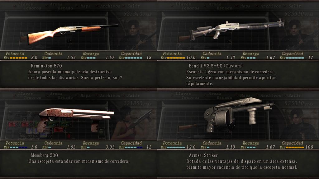 Nombres realistas de armas para RE4 Classic - by Jadiel Martins [Multi-Idioma] (Actualizado) 910