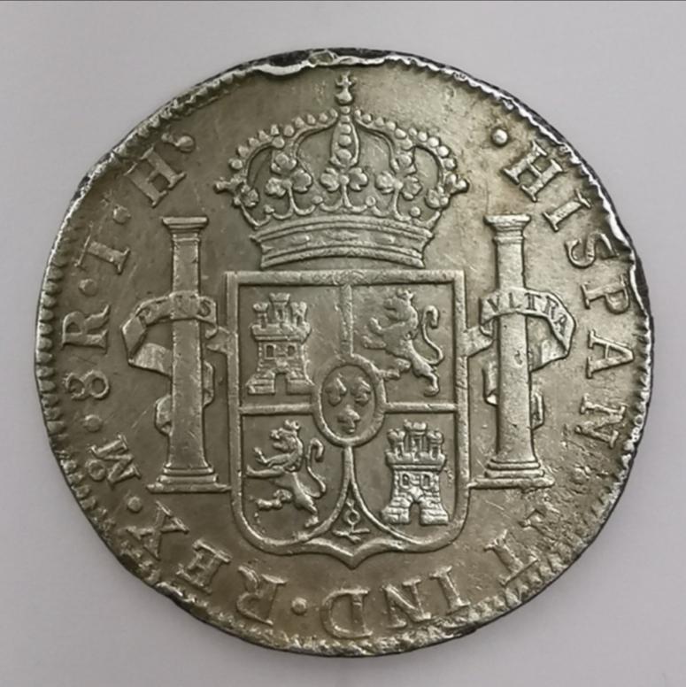 8 Reales Carlos IV - 1806 Img_2038