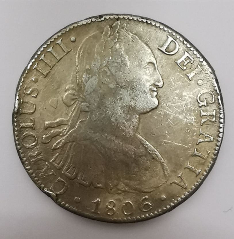 8 Reales Carlos IV - 1806 Img_2039