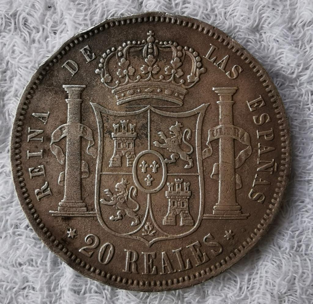 20 Reales Isabel II 1860 - Página 2 Img_2062