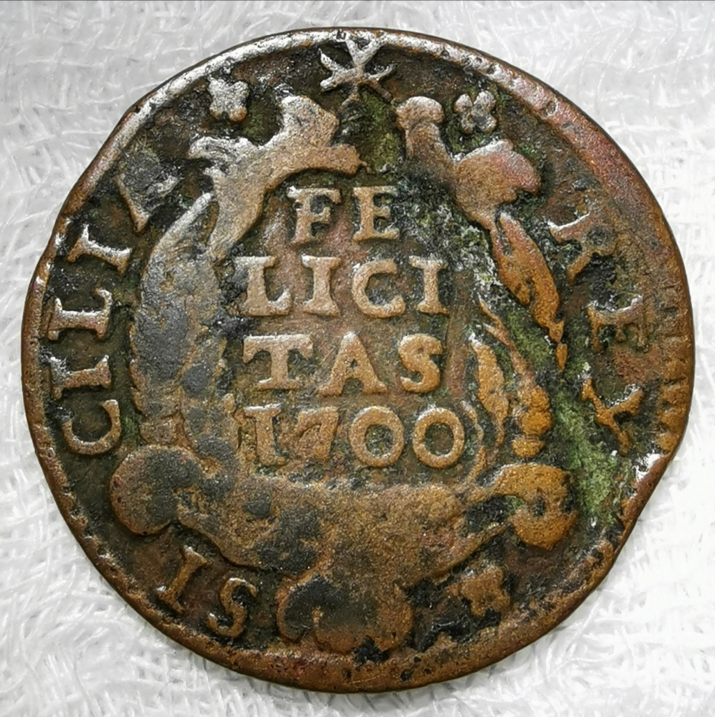 1 Grano Carlos II - El Hechizado . Nápoles año 1700 Img_2122