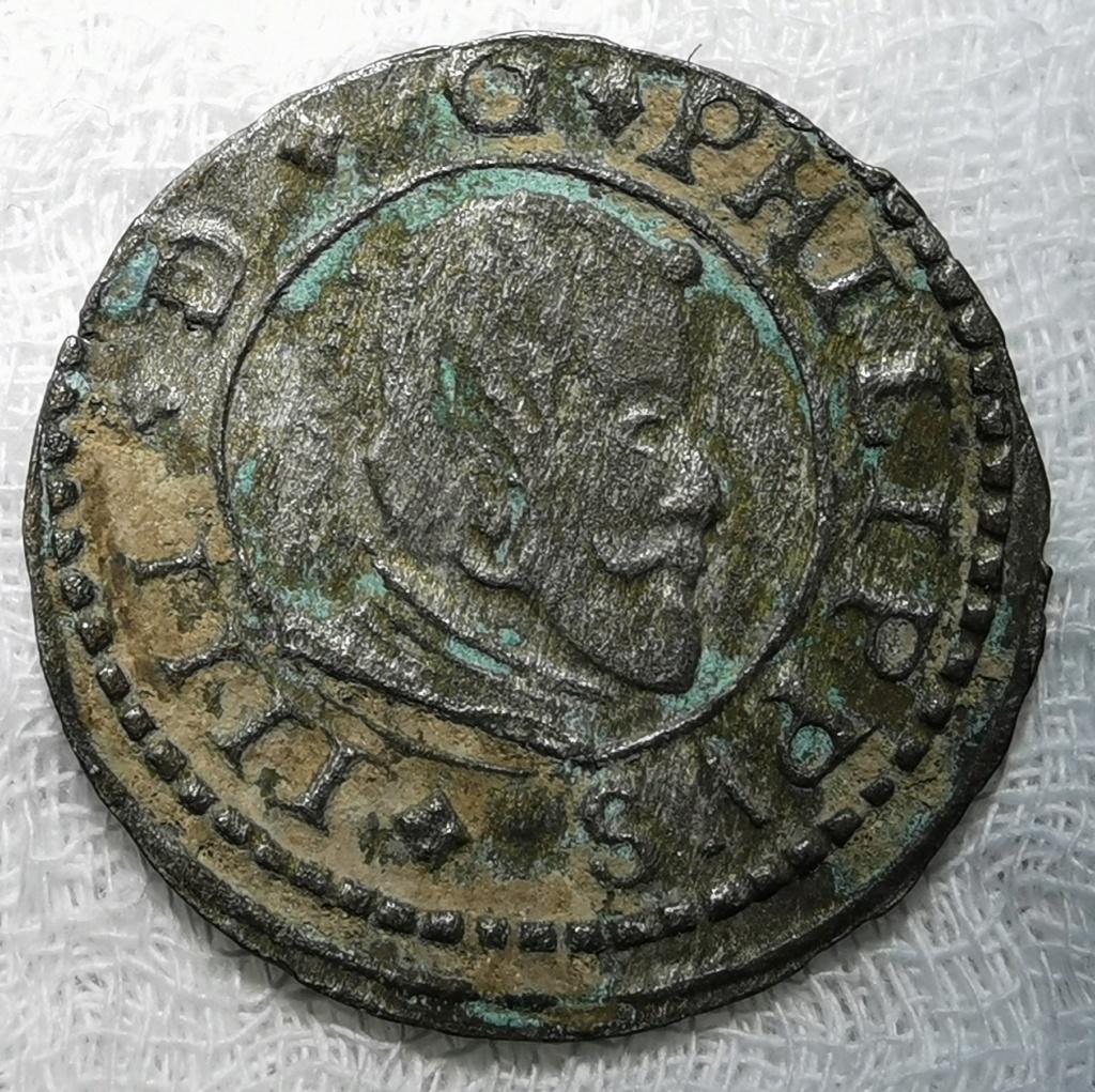 16 Maravedís Felipe IV. Sevilla 1663 Img_2126