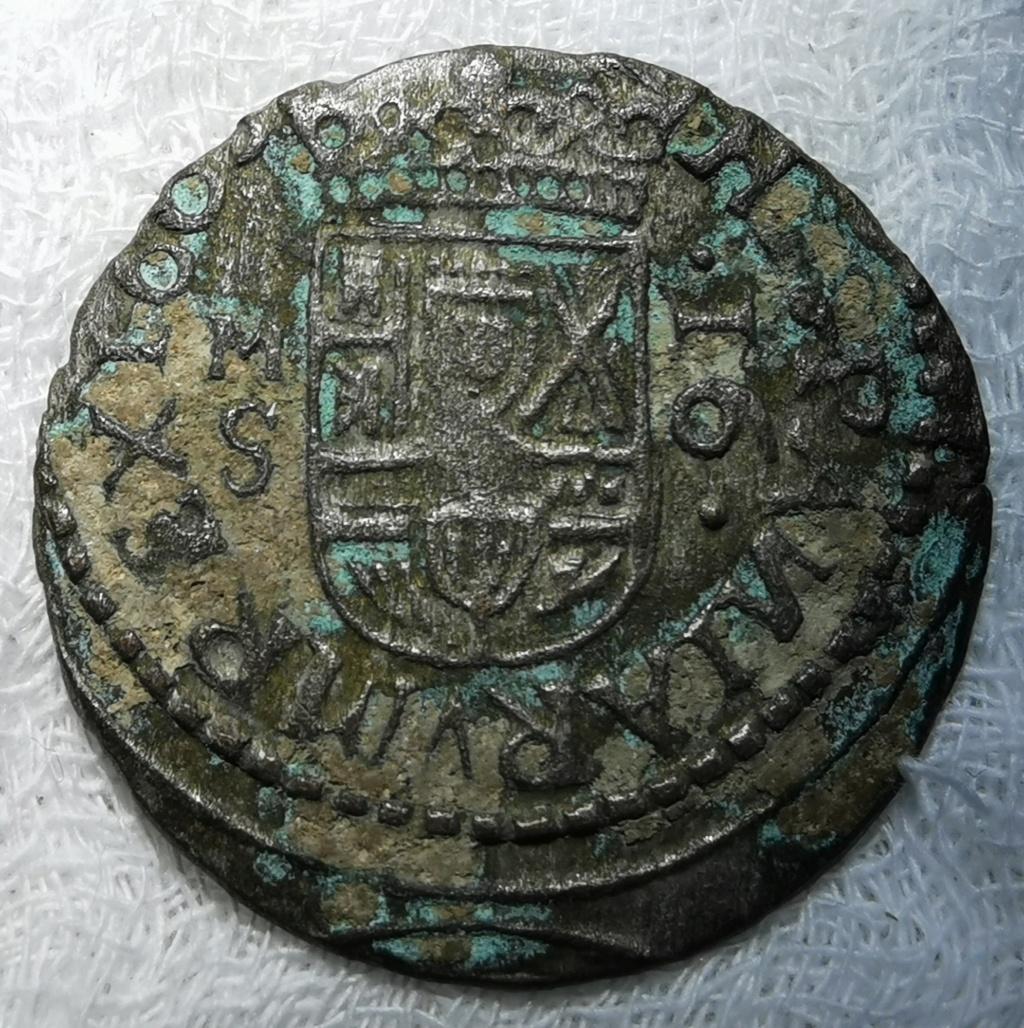 16 Maravedís Felipe IV. Sevilla 1663 Img_2127