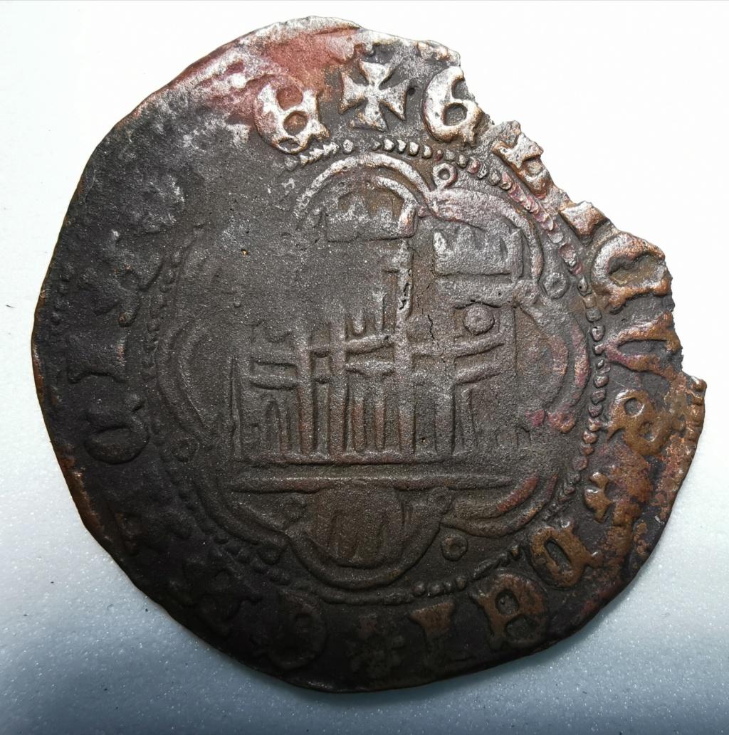 Cuartillo Enrique IV - . Segovia (1465-1474) Reino de Castilla y León Img_2182