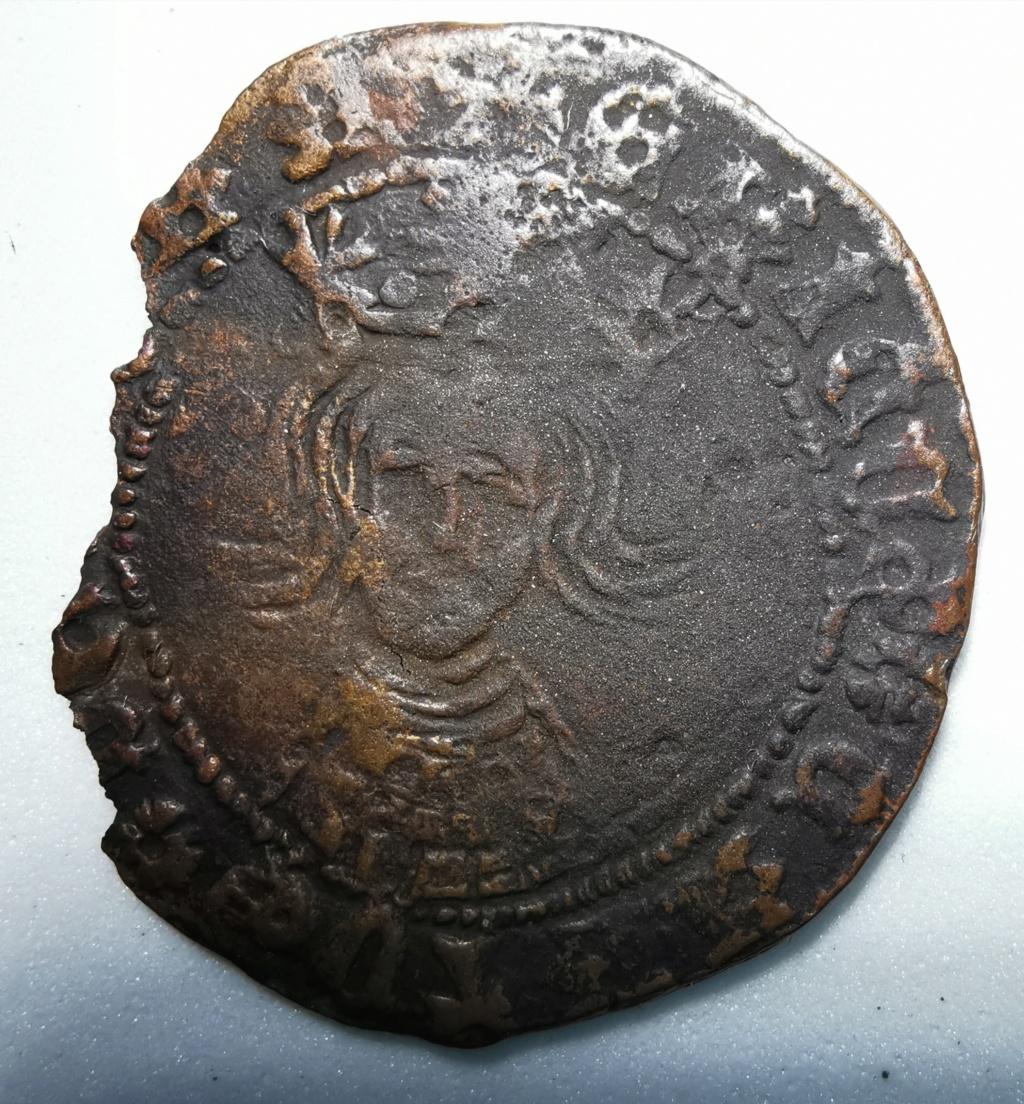 Cuartillo Enrique IV - . Segovia (1465-1474) Reino de Castilla y León Img_2183