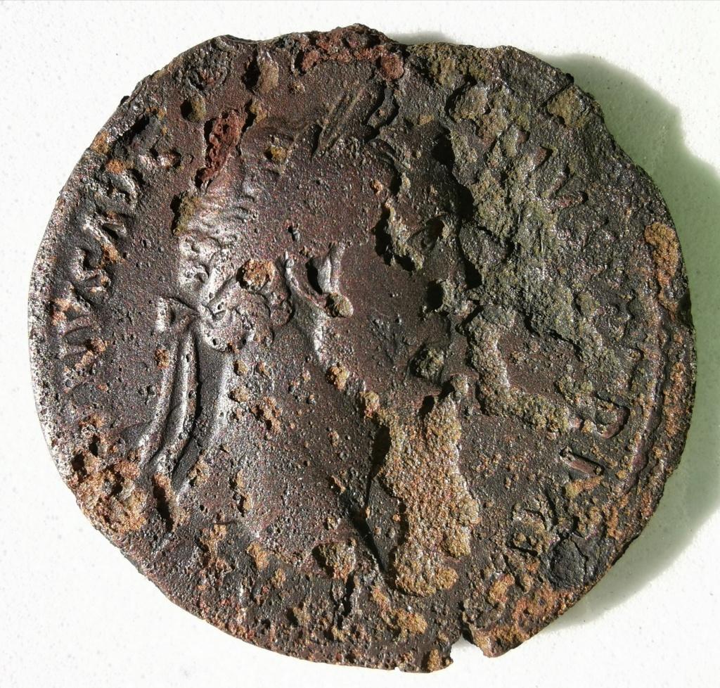 Sestercio Antonino Pío. COS IIII S C. Fortuna estante a dcha. Roma. Img_2213