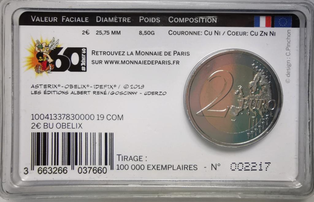 2 Euros Francia 2019. ASTERIX Img_2244