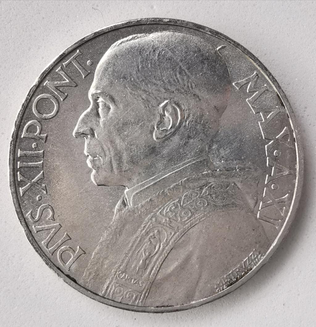 10 Liras Pio XII 1949 Ciudad del Vaticano Img_2255