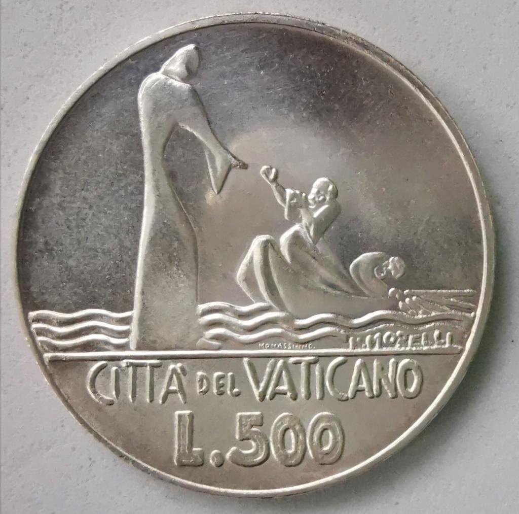 500 Liras Ciudad del Vaticano Pablo VI 1978 Img_2259