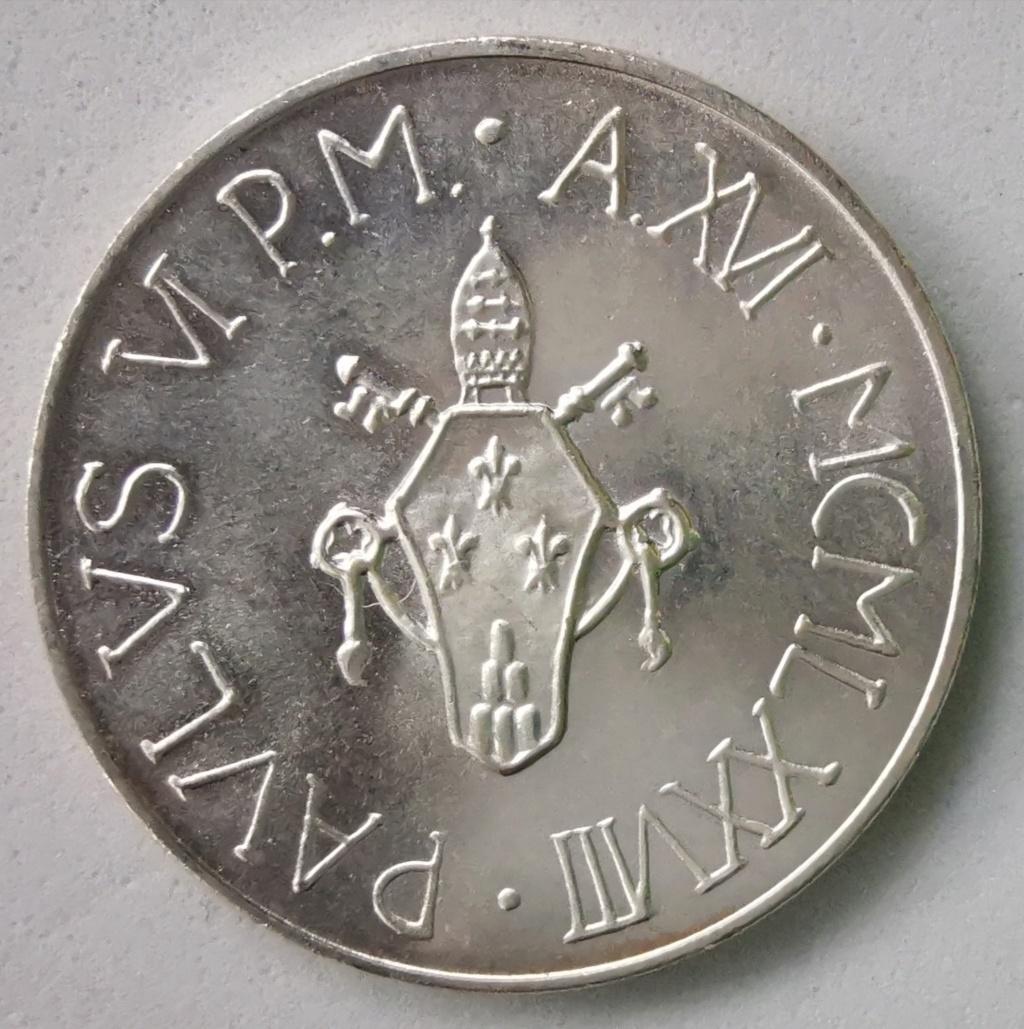 500 Liras Ciudad del Vaticano Pablo VI 1978 Img_2260