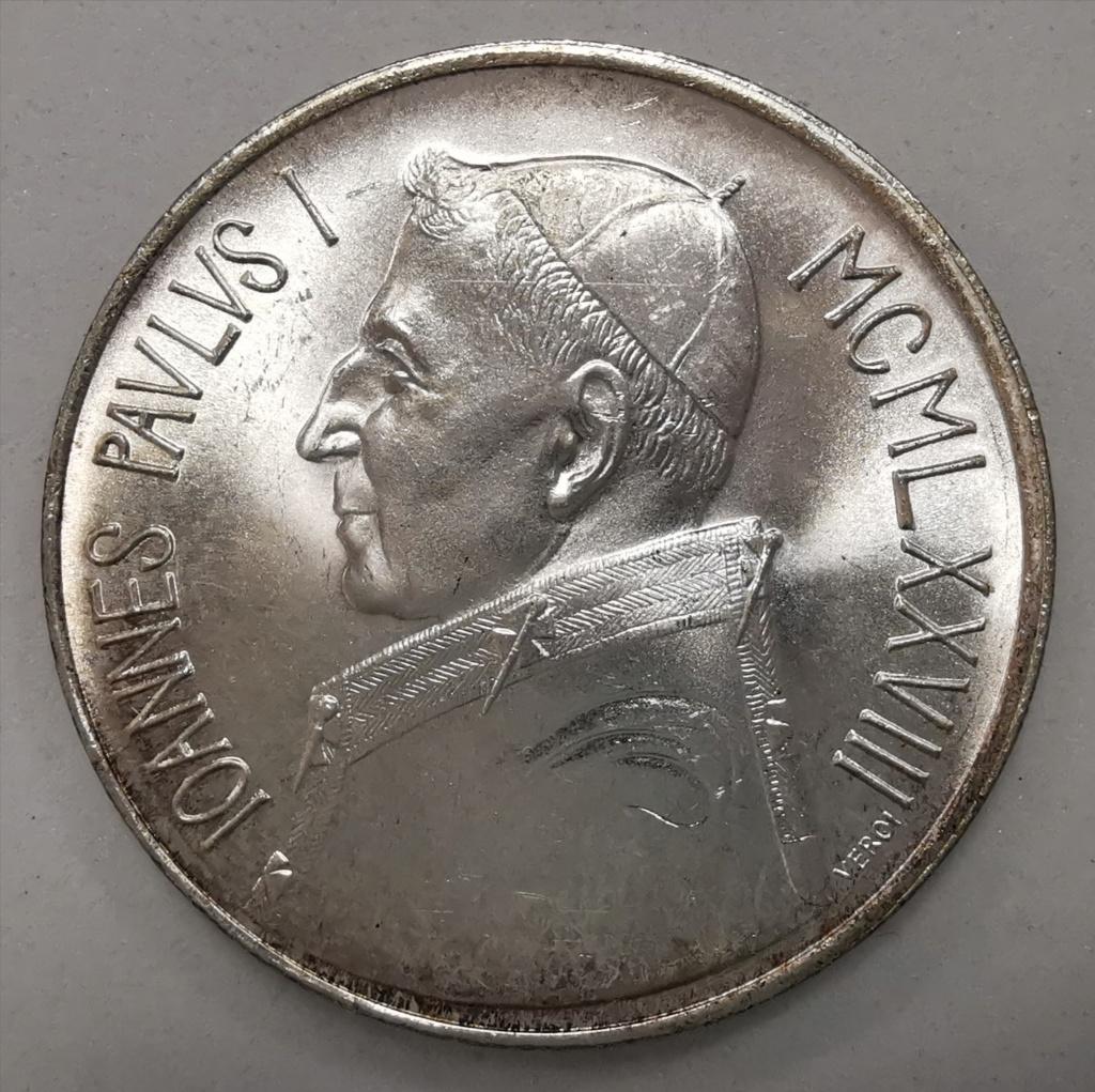 1000 Liras Ciudad del Vaticano Juan Pablo I 1978 Img_2263