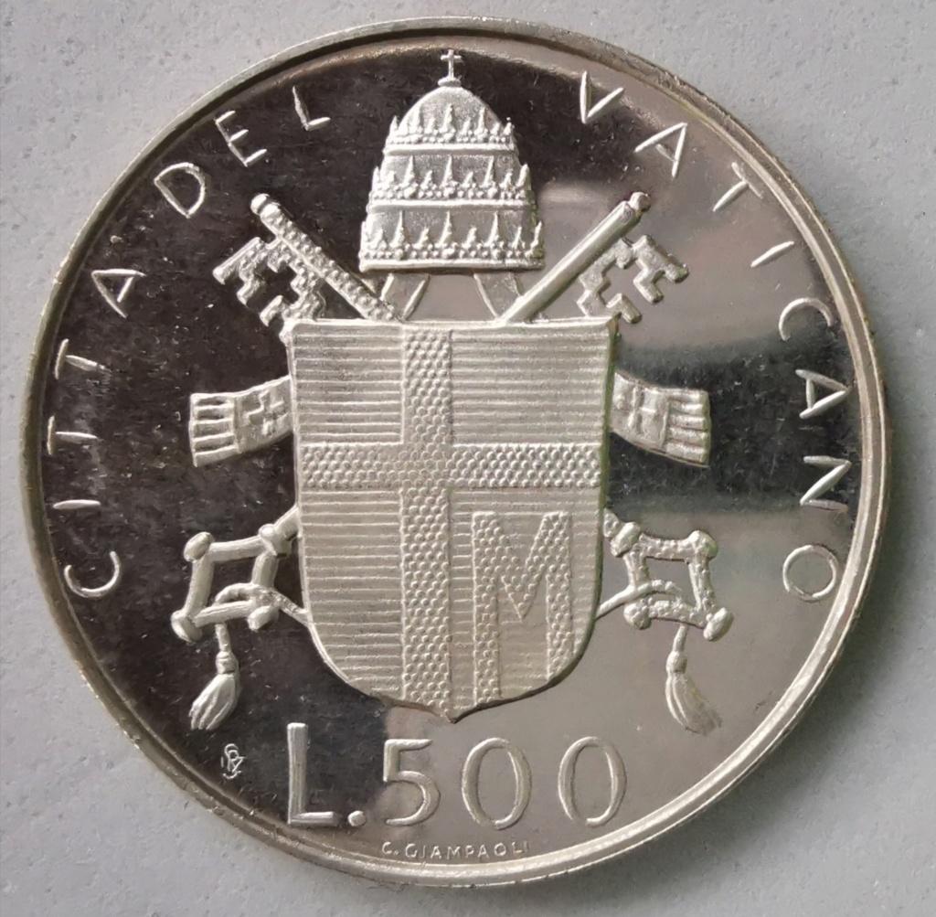 500 Liras Ciudad del Vaticano Juan Pablo II, 1979 Img_2265