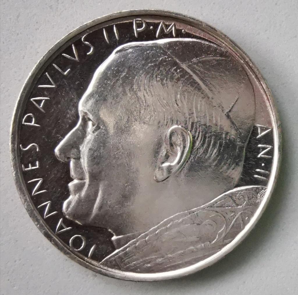 500 Liras Ciudad del Vaticano Juan Pablo II, 1980 Img_2266