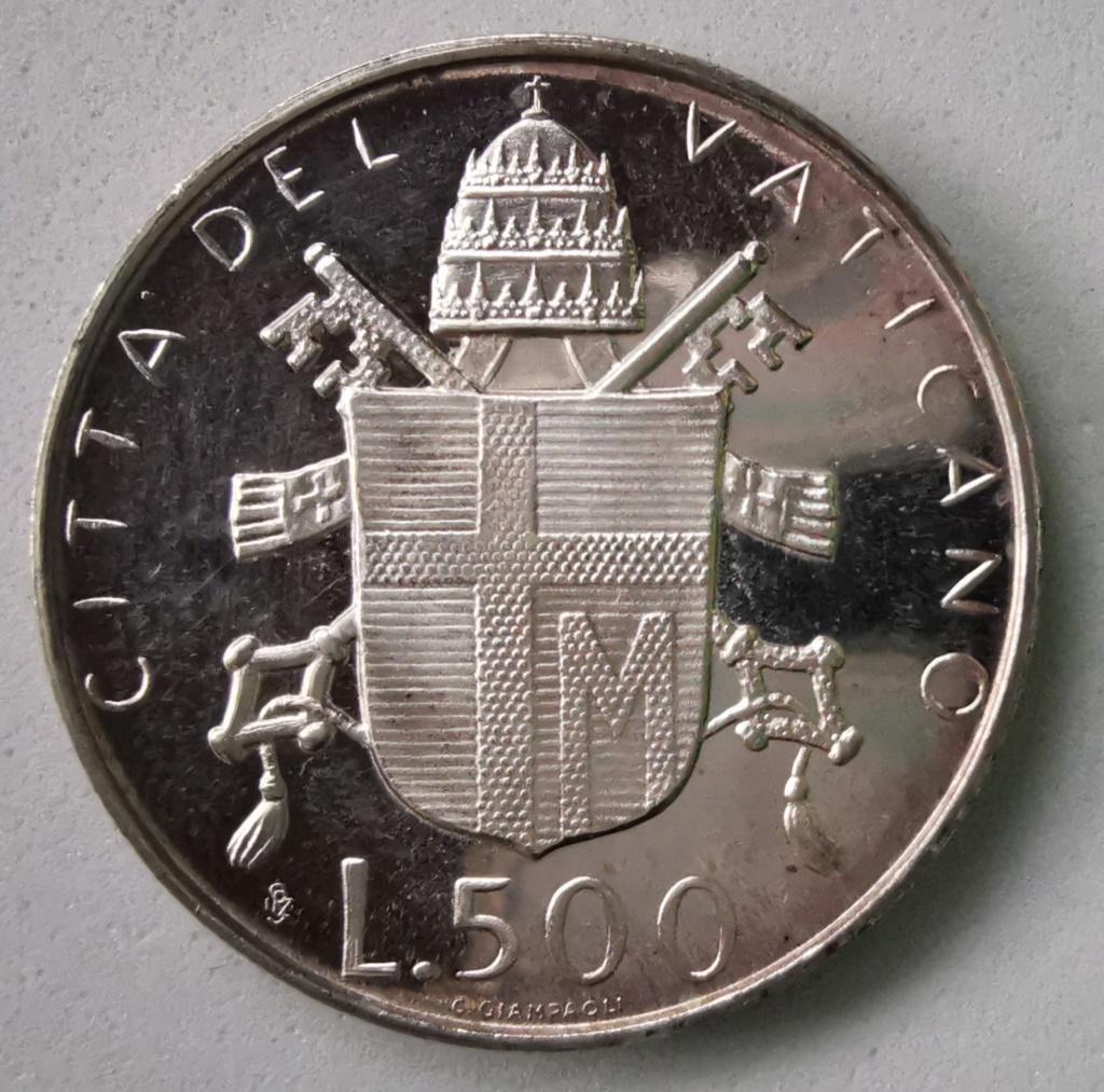 500 Liras Ciudad del Vaticano Juan Pablo II, 1980 Img_2267