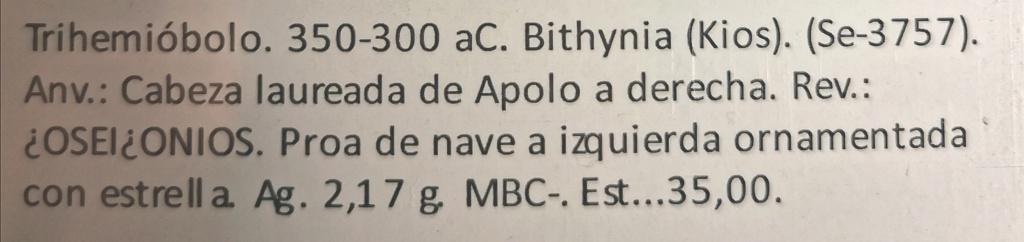 Hemidracma de Kios, Bitinia 350-300AC Img_2292