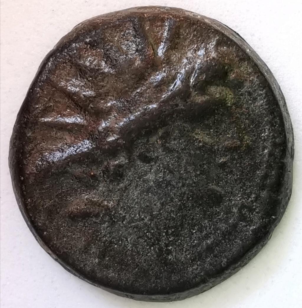 Bronce AE19 Imperio Seléucida - Cleopatra Thea y Antioco VIII Grifo (125-121AC) Img_2308