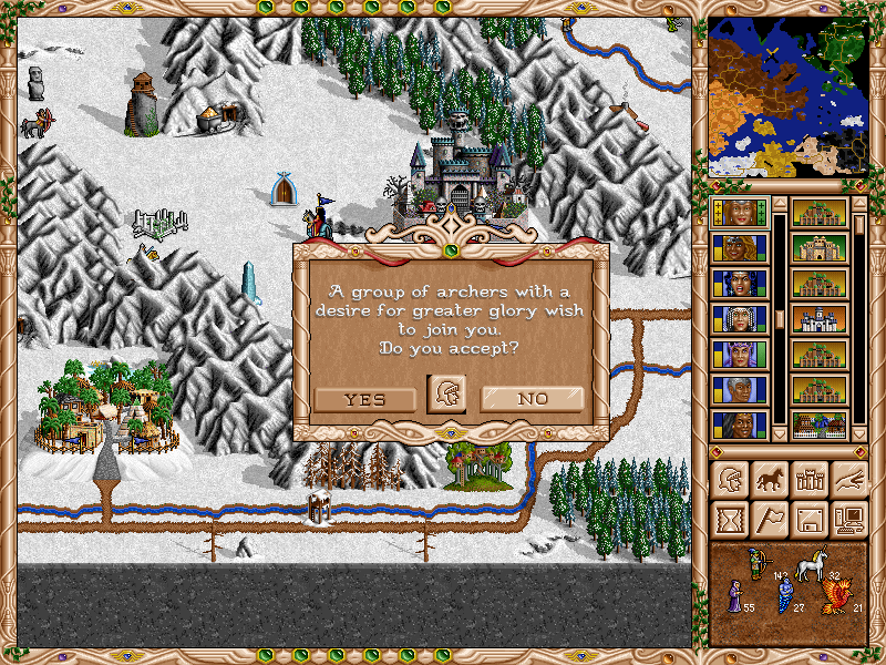Free Heroes of Might and Magic II (fheroes2) General Announcements Map_0_10