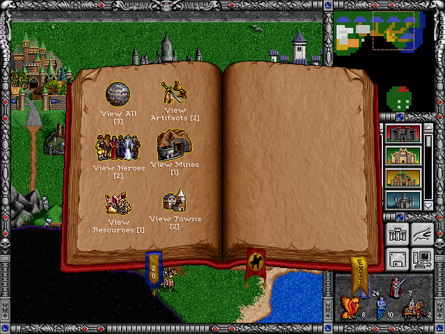 Free Heroes of Might and Magic II (fheroes2) General Announcements Spells11