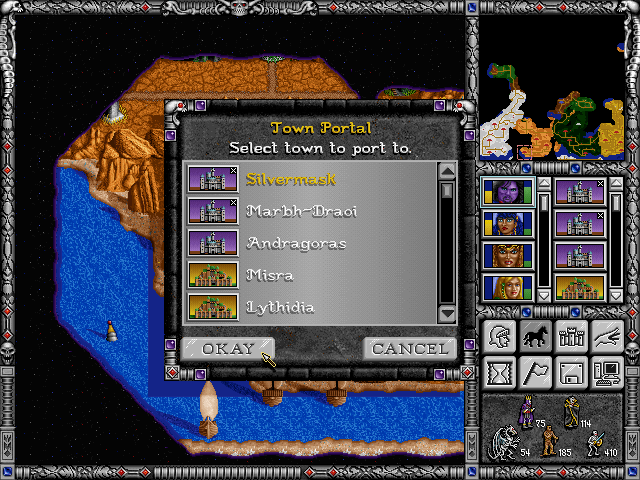 Free Heroes of Might and Magic II (fheroes2) General Announcements Town_p10