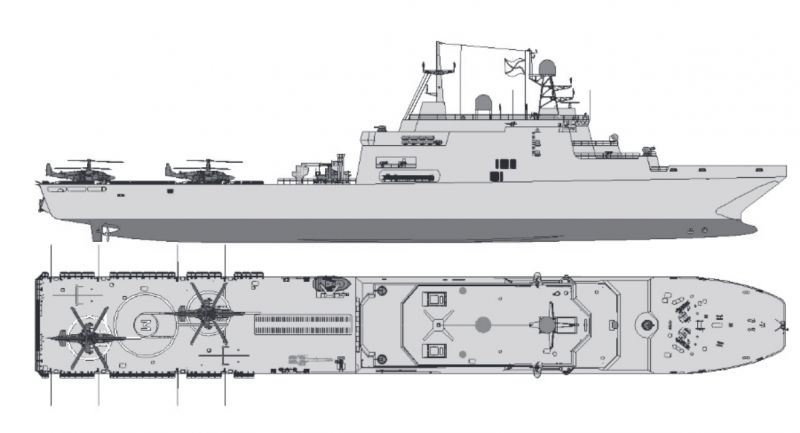 """Project 11711: """"Ivan Gren"""" class - Page 29 28-76310"""