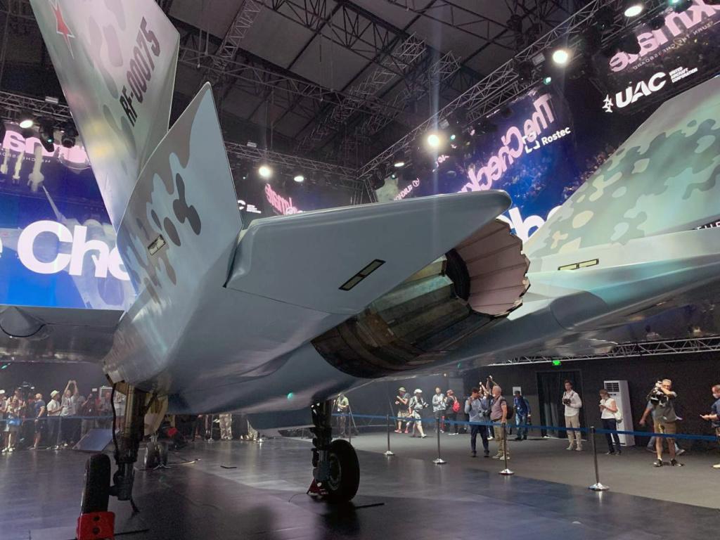New combat aircraft will be presented at MAKS-2021 - Page 30 Jfg4yd10