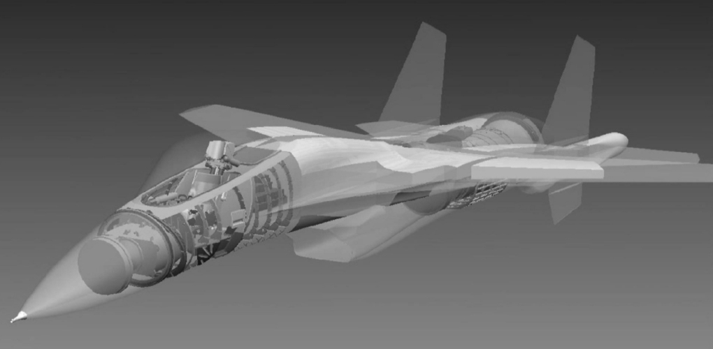 5th gen light mulltirole fighter/Mikoyan LMFS - Page 23 Lfs10
