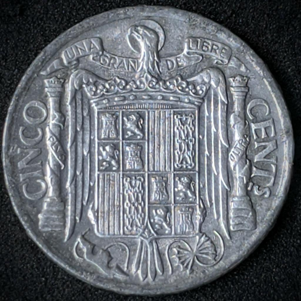 5 céntimos 1940, lancero ibérico Img_2088