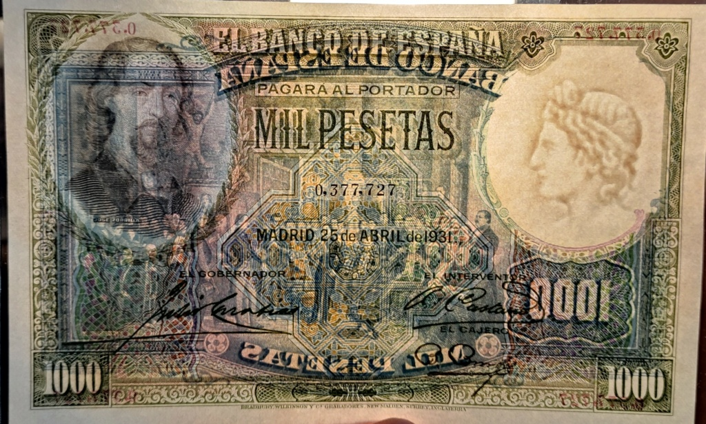 1000 PESETAS 1931 José Zorrilla Img_2028