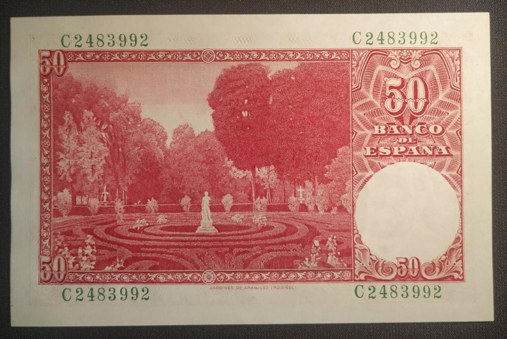 50 pesetas 1951 Santiago Rusiñol Img_2030