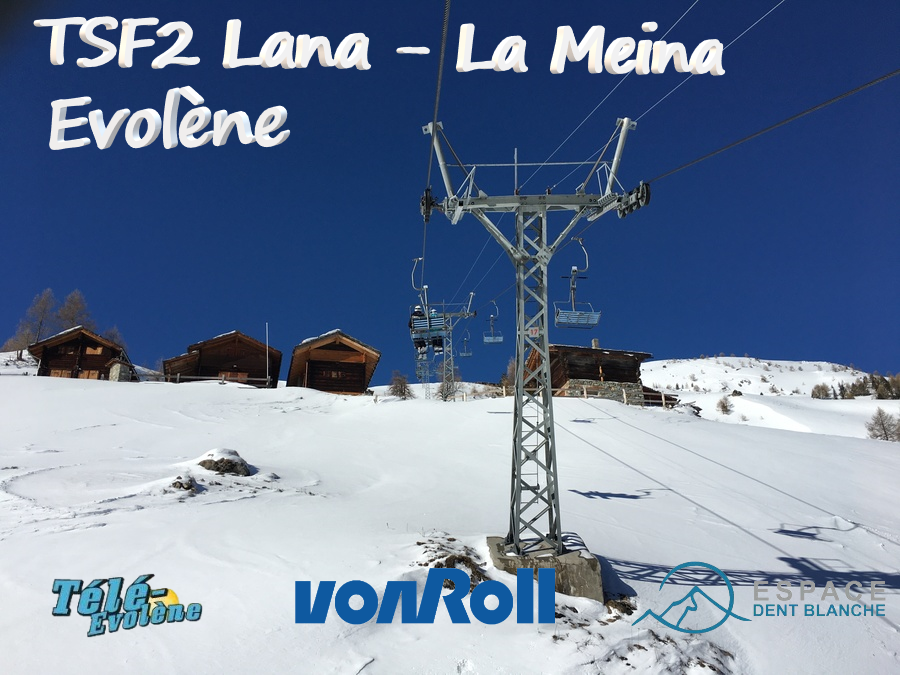 Télésiège fixe biplace (TSF2) Lana-La Meina Sans_t10