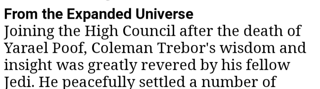 Coleman Trebor Respect Thread 20200912