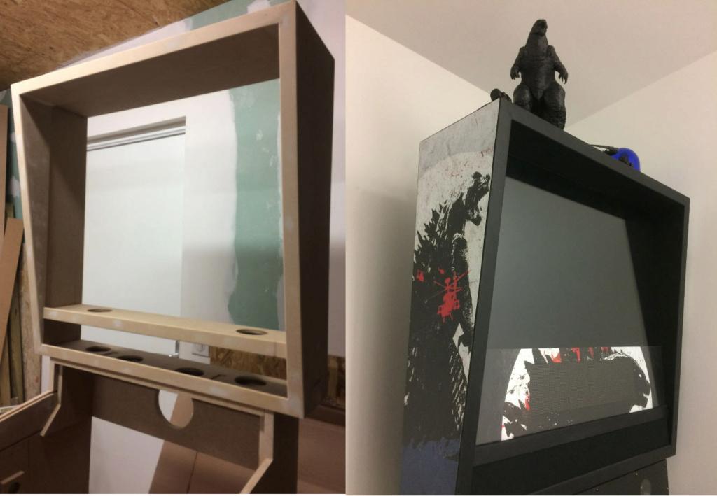 [TERMINÉ] Pincab 4k 43 pouces Godzilla 311