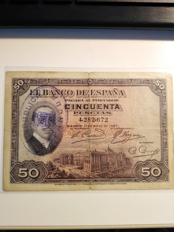 Sellos falsos - SELLOS FALSOS en billetes, reinventarse o morir 50_pts10