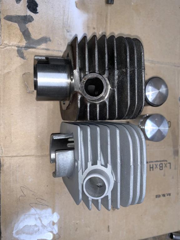 Kit athena 50cc 38,4 mm  vs original  Eadaae10