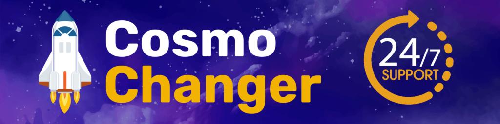 Cosmochanger.cc - Самый реактивный обменник криптовалют.  Cosmo-10