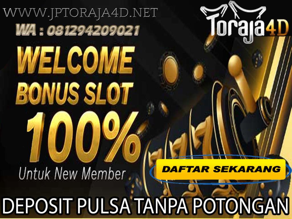 SITUS SLOT ONLINE TERGACOR SE-ASIA | TORAJA4D Ok_1410