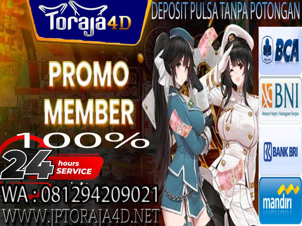 SITUS SLOT ONLINE TERGACOR SE-ASIA | TORAJA4D Ok_610