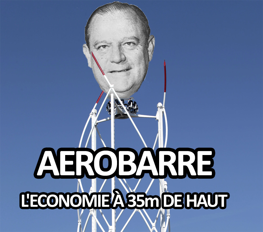 Parodies politiques des attractions Aeroba10