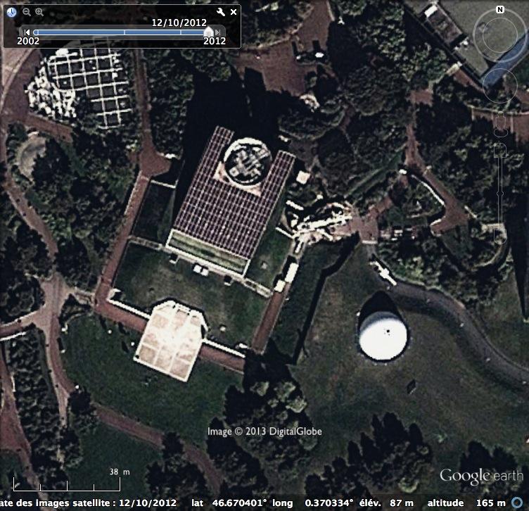 Boule du Futuroscope : démontage, reconstruction, scénographie (2012-2014) - Page 12 Google10