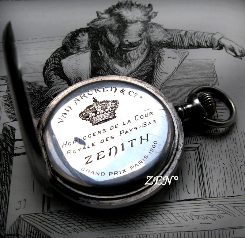 VAN ARCKEN Horloger de la Cour royale des Pays Bas  Zenith10