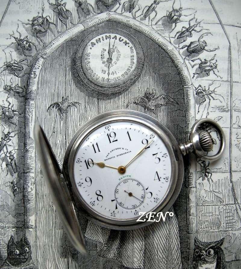 VAN ARCKEN Horloger de la Cour royale des Pays Bas  Zenith11