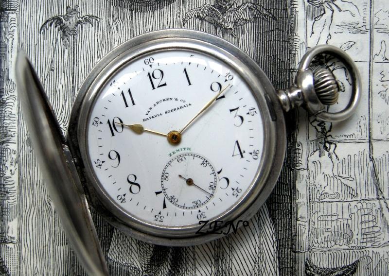 VAN ARCKEN Horloger de la Cour royale des Pays Bas  Zenith12