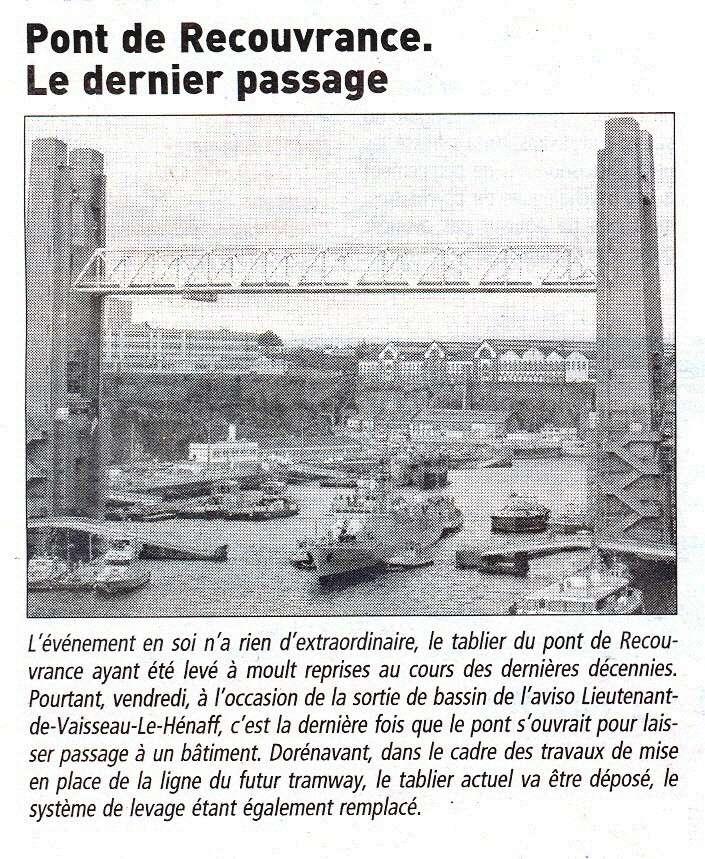 [Les ports militaires de métropole] Port de Brest - TOME 1 - Page 20 Pt_rec10