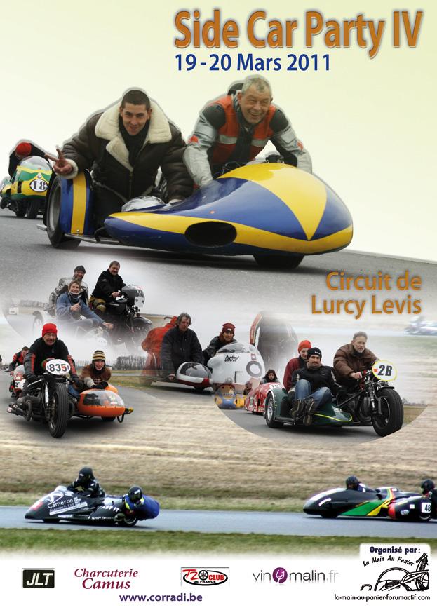 Side-car party Lurcy Levis  19 20 Mars Affich10