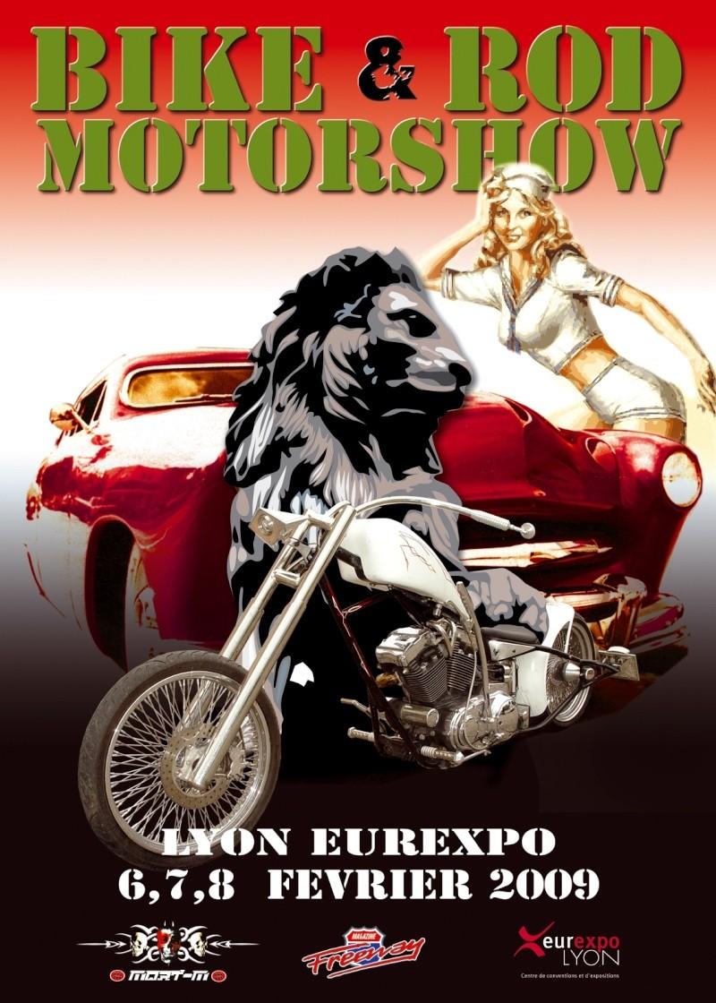 BIKE N ROD MOTOR SHOW 2009 Affich10
