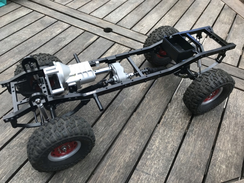 DODGE POWER WAGON - CHASSIS TF2 RC4WD - Page 2 Chassi10