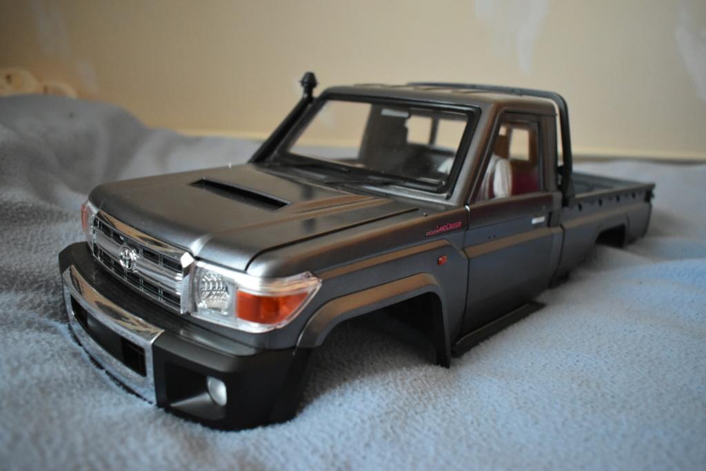 Montage carrosserie Toyota Land Cruiser LC70 Killerbody du Kit BRX01 Dsc_0237